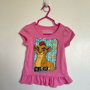 """Disney """"The Lion Guard"""" Toddler Top - Size 2T"""